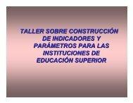 Indicadores 1 - sistema administrativo de calidad