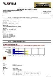 Chemwatch Australian MSDS 32-0787 - FUJIFILM Australia