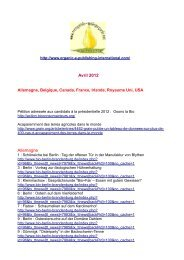 Avril 2012 Allemagne - Organic-E-Publishing-International