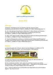 Janvier 2012 - Organic-E-Publishing-International