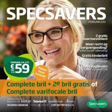 Specsavers folder 16 februari t/m 15 maart 2015