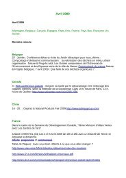 Avril 2009 - Organic-E-Publishing-International