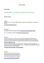 Février 2009 - Organic-E-Publishing-International