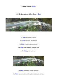 Juillet 2010 : Eau - Organic-E-Publishing-International