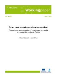 From one transformation to another: Towards an ... - MediaAcT