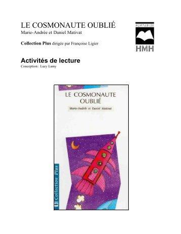 Le Cosmonaute oublié - Les Éditions Hurtubise