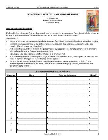 Le Moussaillon de la Grande-Hermine - Les Éditions Hurtubise