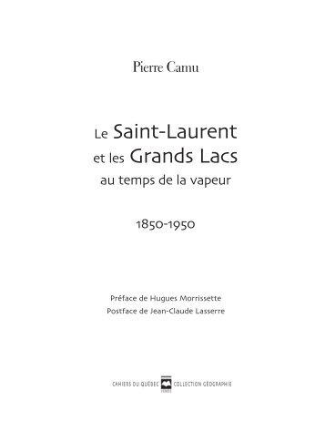 Consulter un extrait du livre en pdf - Les Éditions Hurtubise