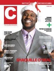 SHAQUILLE O'NEAL - C Magazine / columbusmag.com