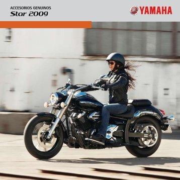 Star 2009 - Accesorios de moto y recambios Yamaha