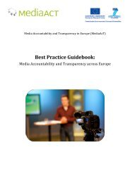 Best Practice Guidebook - MediaAcT