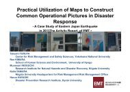 Practical Utilization of Maps to Construct C O ti l Pi ... - (IFI)-Home Page
