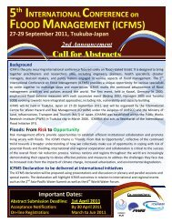 2nd Announcement and Call for Abstracts - (IFI)-Home Page