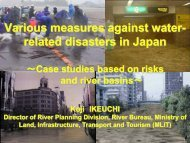 related disasters in Japan - (IFI)-Home Page