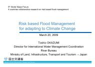 Risk based Flood Management for adapting to ... - (IFI)-Home Page