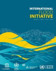 International Flood Initiative: UNESCO, WMO, UNU, ISDR ... - unesdoc