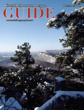 Catskill Mountain Region GUIDE December 2011