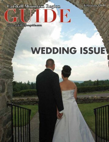 WEDDING ISSUE - Catskill Mountain Foundation