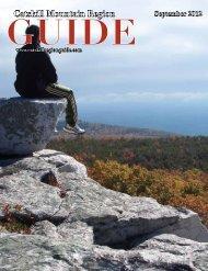 Catskill Mountain Region GUIDE September 2012