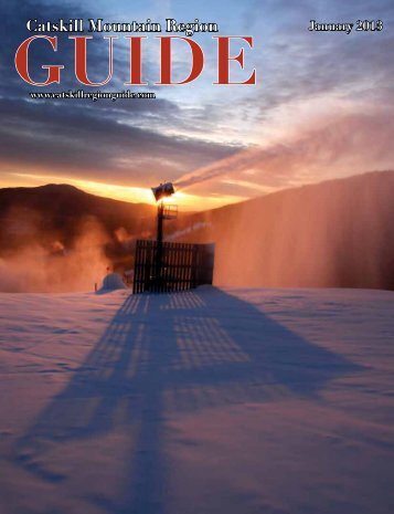 Catskill Mountain Region GUIDE January 2013