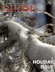 HOLIDAY ISSUE - Catskill Mountain Foundation