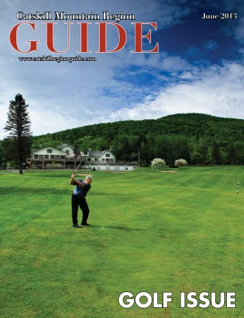 GOLF ISSUE - Catskill Mountain Foundation
