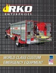 world class custom emergency equipment - RKO Enterprises