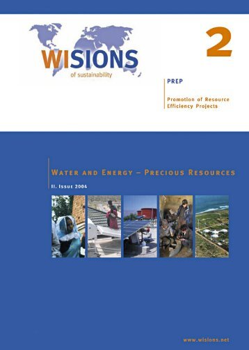 PREP 02 Water and Energy 2nd2004 - WISIONS of Sustainability