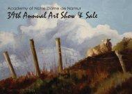 39th Annual Art Show & Sale - Academy of Notre Dame de Namur