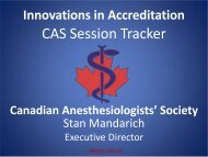 CAS Session Tracker - Royal College