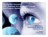 Business Aircraft Market Forecast - BizavNews