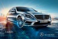Mercedes-Benz S-osztály limuzin prospektusának letöltése magyar ...