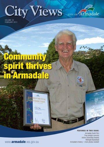 Volume 32 February 2011 (PDF 841 KB) - City of Armadale
