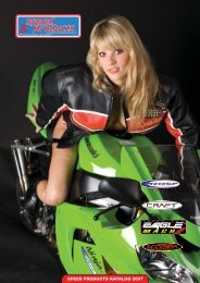 SPEED PRODUCTS KATALOG 2007 - Eagle Exhaust