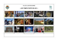 LES TEMPS FORTS EN 2011 - La Seyne-sur-Mer