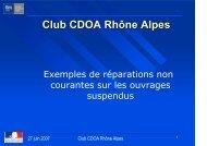 Club CDOA Rhône Alpes