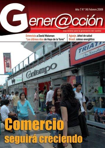 Año 7 N° 96 Febrero 2009 Entrevista a David ... - Generaccion.com