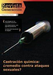 Castración química: ¿remedio contra ataques ... - Generaccion.com