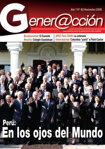 Año 7 N° 82 Noviembre 2008 Biodiversidad:El ... - Generaccion.com