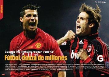 Fútbol, danza de millones - Generaccion.com