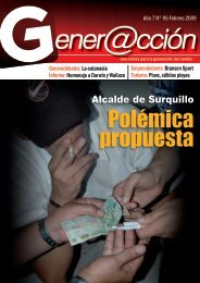 Polémica propuesta - Generaccion.com