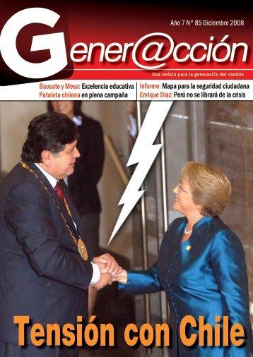 Año 7 N° 85 Diciembre 2008 Bausate y Mesa ... - Generaccion.com