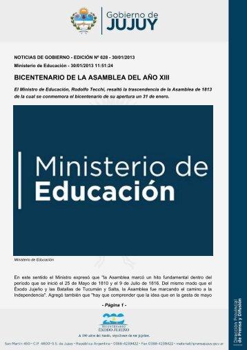BICENTENARIO DE LA ASAMBLEA DEL AÑO XIII