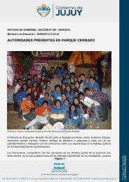 AUTORIDADES PRESENTES EN PARQUE CERRADO