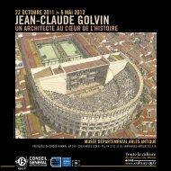 Expo JC Golvin MDAA - Musée départemental Arles antique