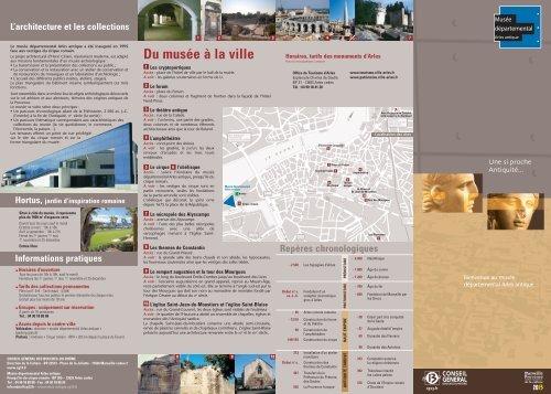 dep.visitMuseon cg13 - Musée départemental Arles antique