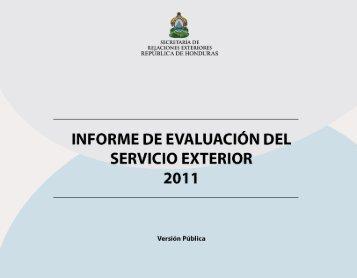 Ley del servicio diplom tico y consular de honduras for Relaciones exteriores honduras