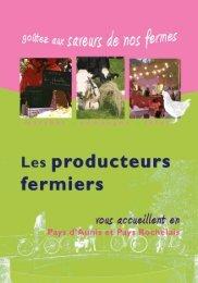 Les produits - La Chambre d'Agriculture de Charente-Maritime.