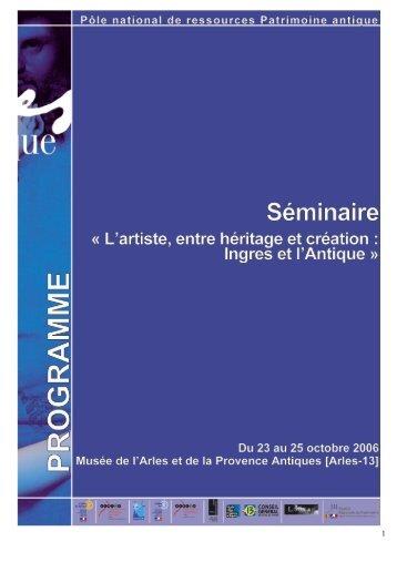 télécharger le programme de formation - Musée départemental ...