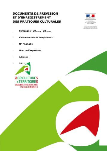 Fiches coll ges charente maritime - Chambre d agriculture charente maritime ...